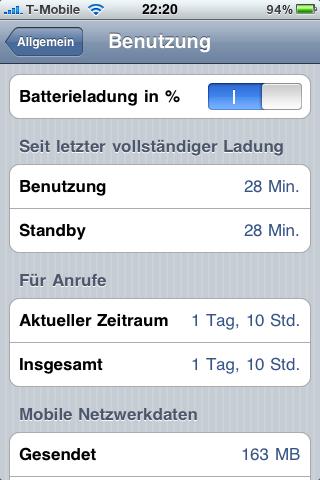 Batterieanzeige In Prozent Iphone Xs